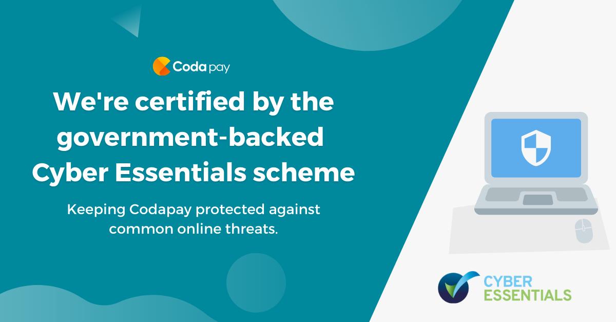 Cyber Essentials Codapay