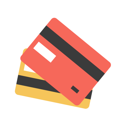Bank cards graphic