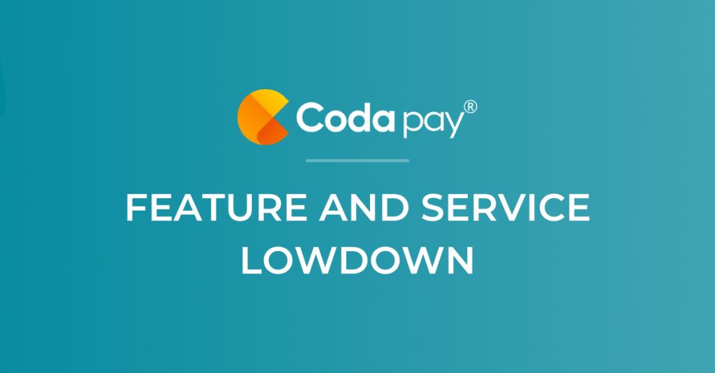Codapay feature lowdown